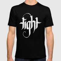 tight Mens Fitted Tee Black SMALL