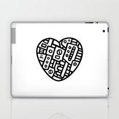 Iron heart (B&W Edition) - PM Laptop & iPad Skin