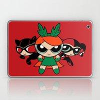 Supervillain Girls Laptop & iPad Skin