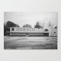 Hoe Bowl Canvas Print
