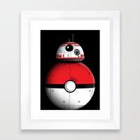 PokeBB Framed Art Print