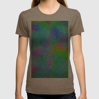 Squares#1 Womens Fitted Tee Tri-Coffee SMALL