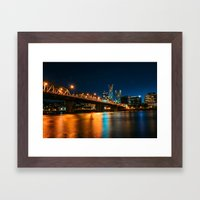 Bridgetown Framed Art Print