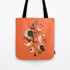 Cones Of Shame (orange) Tote Bag
