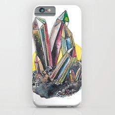 Rainbow Metallic Crystals iPhone 6 Slim Case