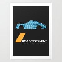 Drive - Road Testament Art Print
