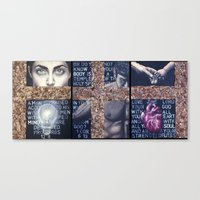 Mind Body Soul Canvas Print