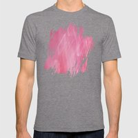 Pink Dream - Abstract Mens Fitted Tee Tri-Grey SMALL