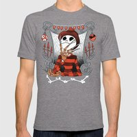 Nightmare King Mens Fitted Tee Tri-Grey SMALL