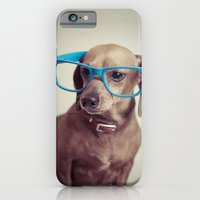 iPhone & iPod Case featuring Dogs think they're sooo smart... by Luke Lindgren
