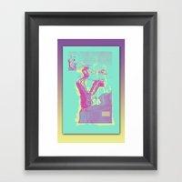 Excavacation Framed Art Print