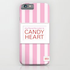 my favorite color is candy heart Slim Case iPhone 6s