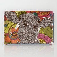 Arabella And The Flowers iPad Case