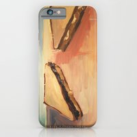 iPhone & iPod Case featuring Talking Sandwiches by Rive Gauche Craft