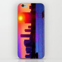 Sunset on the Bay iPhone & iPod Skin