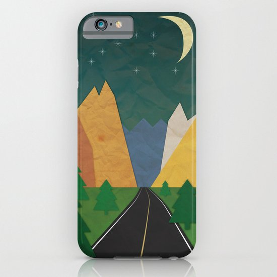 Somewhere going Nowhere iPhone & iPod Case