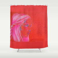 Mother of Dragons Shower Curtain