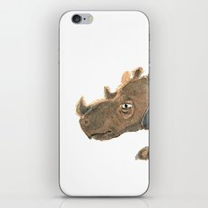 Thinking Rhinoceros iPhone & iPod Skin