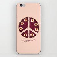 Peace Of Cake iPhone & iPod Skin