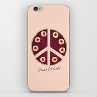 Peace Of Cake iPhone & iPod Skin