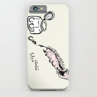iPhone & iPod Case featuring Out Of Words by Fatimah khayyat
