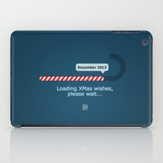 XMAS Wishes preloader iPad Case