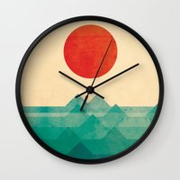 The Ocean, The Sea, The … Wall Clock