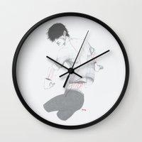 Circuitry Surgery 3 Wall Clock