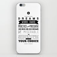 Sincerely Typography iPhone & iPod Skin