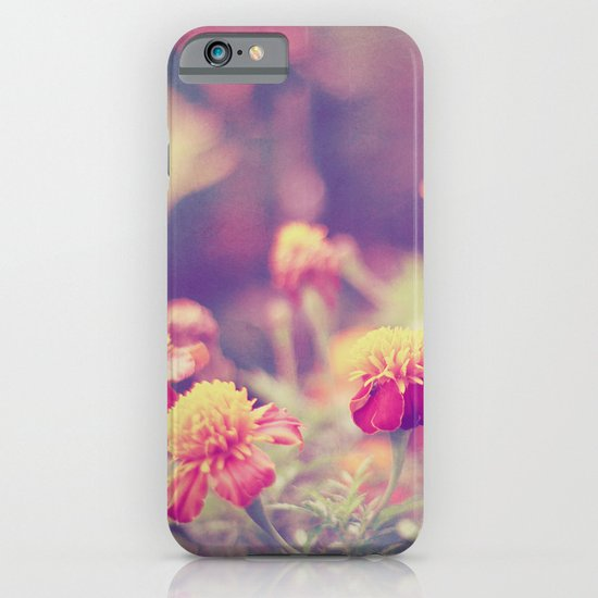 Retro Vintage style - flowers iPhone & iPod Case