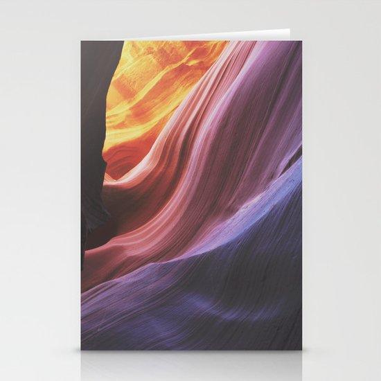 Antelope Canyon Stationery Card