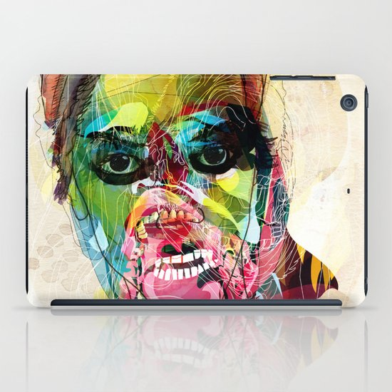 The human beast iPad Case
