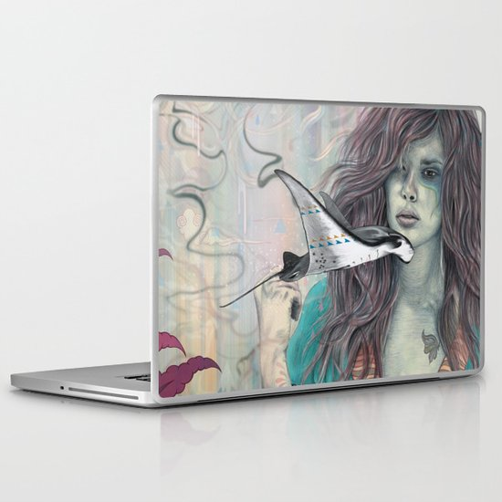 Solid Air Laptop & iPad Skin