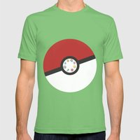 Pokemon Master Mens Fitted Tee Grass SMALL