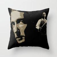 Juxtapose V Throw Pillow