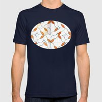 Modern Tiles Mens Fitted Tee Navy SMALL