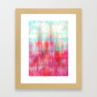 Color Song - Abstract In… Framed Art Print