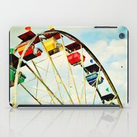 Round And Round We Go iPad Case