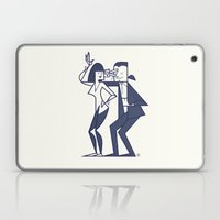 Just shut the fuck up and love me Laptop & iPad Skin