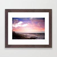 Sunset On The Ho Framed Art Print
