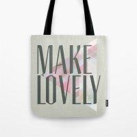 Make Lovely // Stone Tote Bag