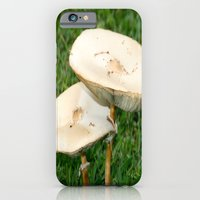 iPhone & iPod Case featuring mushroom love by Jaclyn B Photography