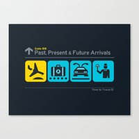 Time to Travel Canvas Print