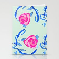 Roses and Vines Stationery Cards
