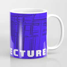 Architecture Blue Mug