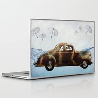 drive Laptop & iPad Skins featuring DRIVE by Jerzy Jachym