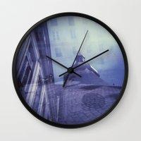 Holga Double Exposure: Eglise Saint-Paul-Saint-Louis, Paris  Wall Clock