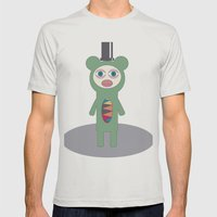 Mr Green Mens Fitted Tee Silver SMALL