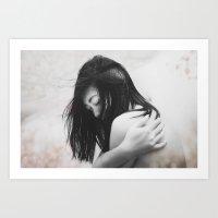 Tears From The Skies Art Print