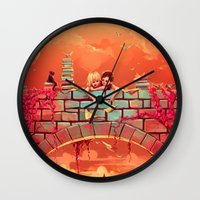 Les Promesses D'une Roma… Wall Clock